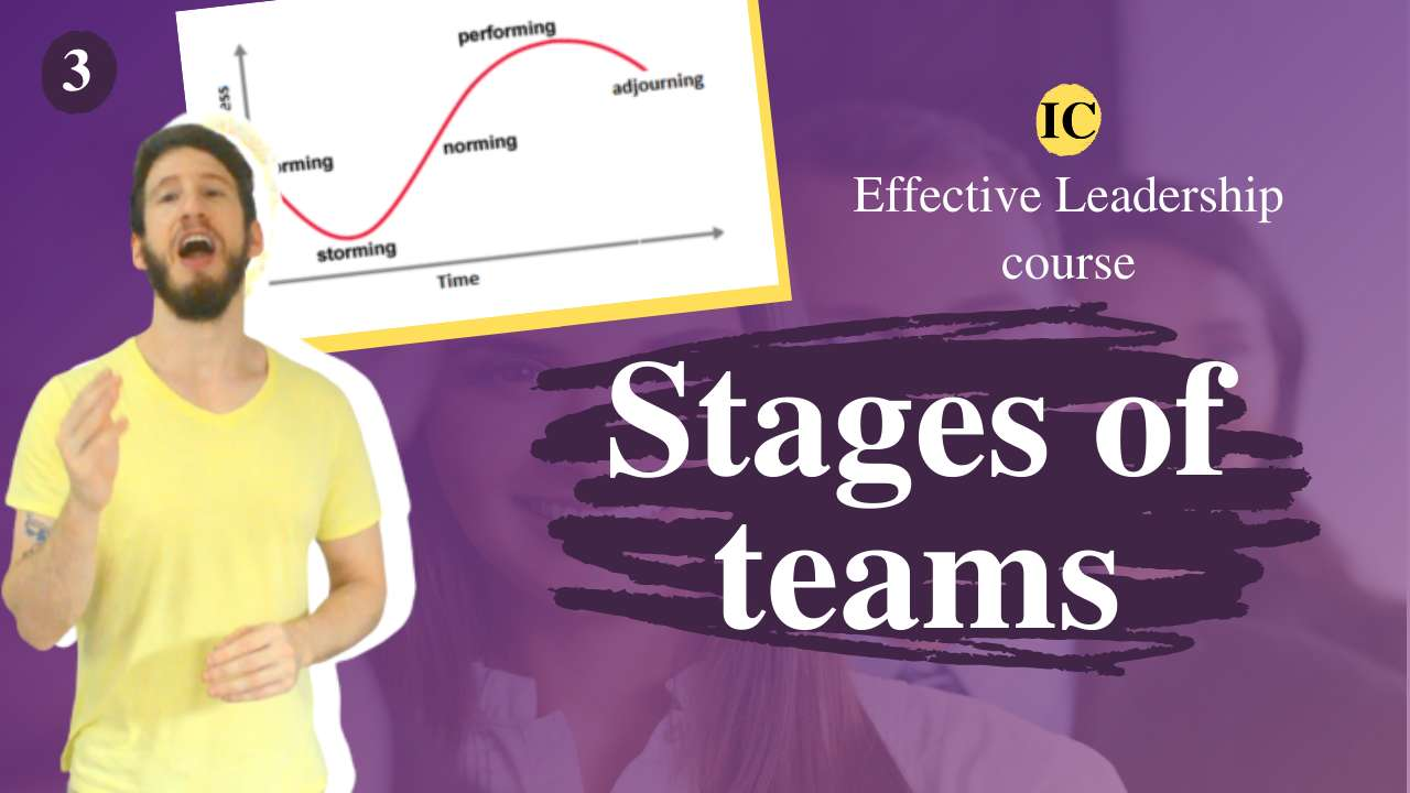 Leading high-performance teams: the stages of team development