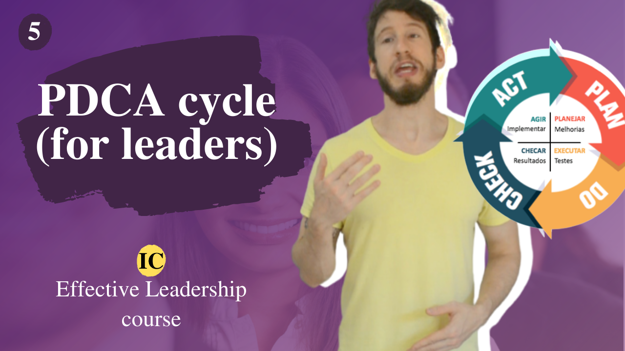 Management concepts for leaders: PDCA cycle and functions of management