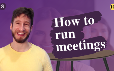 How to run productive meetings in person and remote